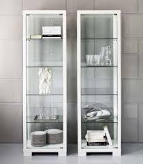 Corner Display Cabinet With Glass Doors Kitchen Amazing Glass Door Display Cabinet With Adjustable Shelves
