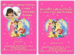 disney princess invitation template orax info