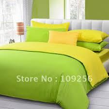 Green And Yellow Comforter Bedding Sets Yellow And Gray Tokida For