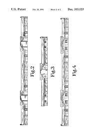 patent usd315023 dual cruciform structure google patents