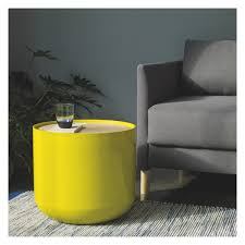 Yellow Side Table Uk Blyth Yellow Storage Side Table Buy Now At Habitat Uk