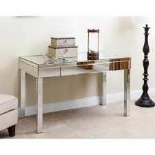 abbyson sylvia mirrored desk free shipping today overstock com