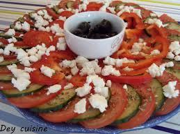 cuisine repas dey cuisine repas grecque slouvaki de poulet salade grecque