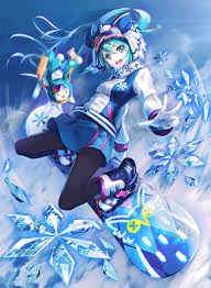 vocaloid halloween monster party night winter sports miku hatsune miku wonderful fantastic