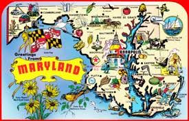 maryland map maryland state maps usa maps of maryland md
