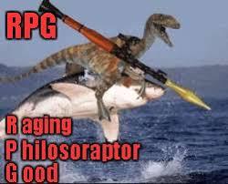Rpg Memes - raptor rpg memes imgflip