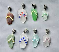 How To Make Jewelry From Sea Glass - 303 best seaglass projects images on pinterest sea glass art