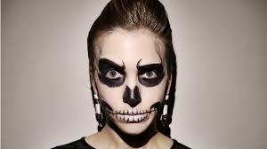 Light Socket Halloween Costume Minute Halloween Makeup Glam Skeleton Stylecaster