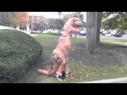 Jurassic Park Halloween Costume Jurassic Park Spoof Inflatable Rex Halloween Costume