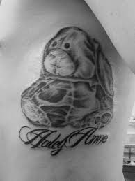 secret lake tattoos tattoos animal stuffed rabbit