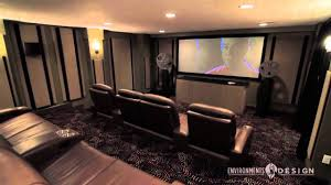 home theater bean bag chairs lower level transformation youtube