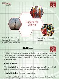 directional drilling ppt oil well drilling