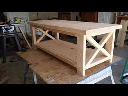 Wood Coffee Table Plans Free by Coffee Table Design How To Build Instructions Diy Youtube