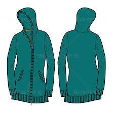 women u0027s long full zip sweater fashion flat template zip sweater