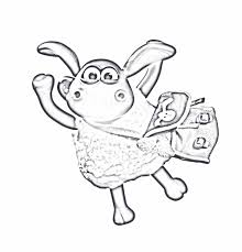 popular shaun sheep coloring pages color 874 unknown