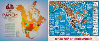 Hunger Games District Map Panem Official Map From Amc Theaters Tributes District Info