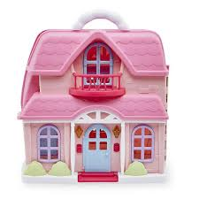 amazon com you u0026 me family cottage dollhouse playset toys u0026 games