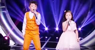 2 children sing u0027you raise me up u0027 u2013 i u0027ve got chills