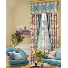 Turquoise Living Room Curtains Curtains For Dining Room Provisionsdining Com