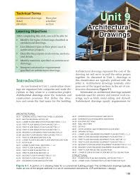 Types Of Architectural Plans Print Reading For Construction 6th Edition Page 155 155 Of 360