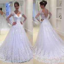 bridel dress 2018 new white ivory wedding dress bridal gown custom size 6 8 10