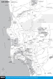 Map Of Balboa Park San Diego by Printable Travel Maps Of Coastal California Moon Com