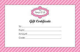 gift certificate templates print activity shelter gift certificate template for girls