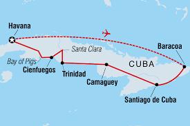 Havana On Map Cuba Tours U0026 Travel Intrepid Travel Au