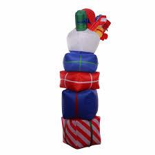 8ft airblown inflatable christmas xmas santa arch gift box decor