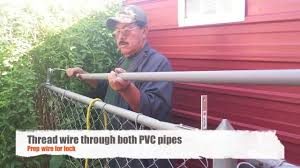 roll bar fence diy keep your pets in u0026 others out youtube