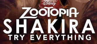 theme song zootopia shakira drops zootopia s try everything full song lyrics