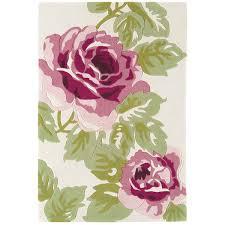 Purple Flower Rug Buy Harlequin Ha10 028 Rose Pink Floral Rug Therugshopuk