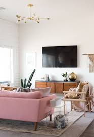 Best  Pink Sofa Ideas Only On Pinterest Blush Grey Copper - Pink living room design