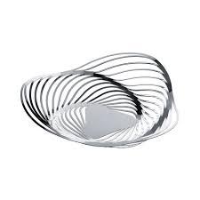 buy alessi trinity fruit bowl stainless steel amara