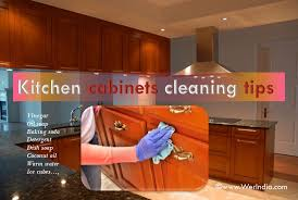 can i use vinegar to clean kitchen cabinets tips to clean kitchen cabinets healthylife werindia