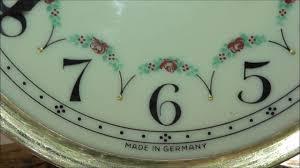 Forestville Mantel Clock Antique Working Forestville 100 Yr Old Clock Germany 400 Day