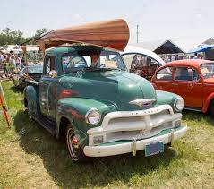 wooden truck iola wi july 13 1954 chevy 3100 pickup truck with wooden