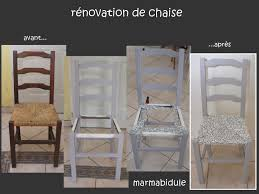 renover une chaise rénovation de chaise 2 marmabidule