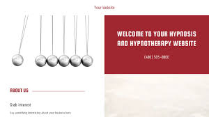 Hypnotherapy Business Cards Hypnosis And Hypnotherapy Website Templates Godaddy