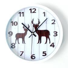 Silent Wall Clock Small Vintage Wall Clock U2013 Digiscot