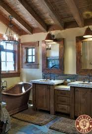 31 best rustic bathrooms images on pinterest rustic bathrooms