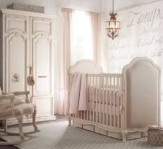 bedroom simple baby girls nursery ideas white wooden baby crib