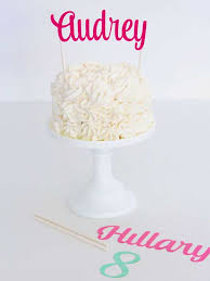 name cake toppers diy cake toppers to make your cake prettier
