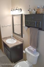 bathroom makeover under creative days pin this small bathroom makeover under mycreativedays