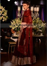 delhi couture embroidered bridal lengha sharara designs 2013 2014