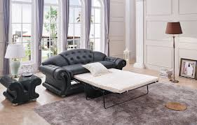 Leather Sofa Bed Versace Black Sofa Versace Esf Furniture Leather Sofas At Comfyco