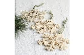 wood burned ornaments a c