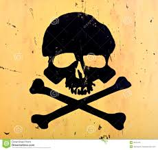 skull and crossbones stock image image of aged lethal 3947475