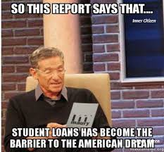 Social Media Meme - degrees not debt social media memes illinois education association