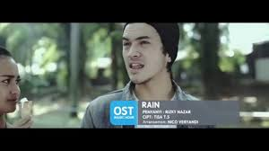 Rizky Nazar Rain Ost Magic Hour Offical Music Video Youtube